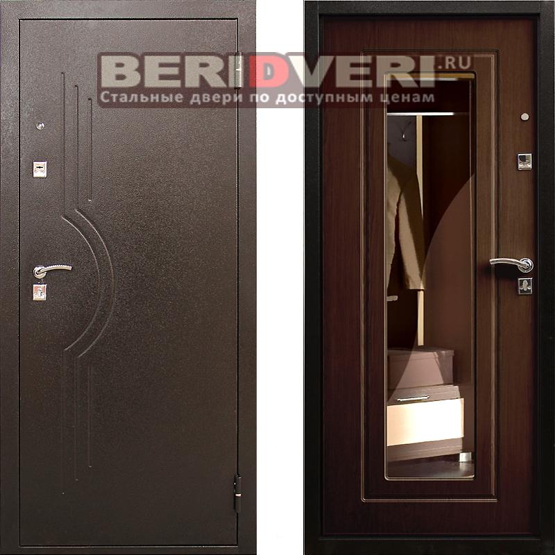Металлическая дверь Рубеж 6 Венге
