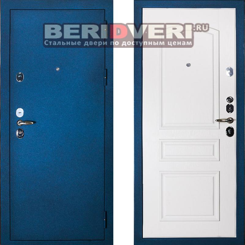 Металлическая дверь Сударь 3 синий
