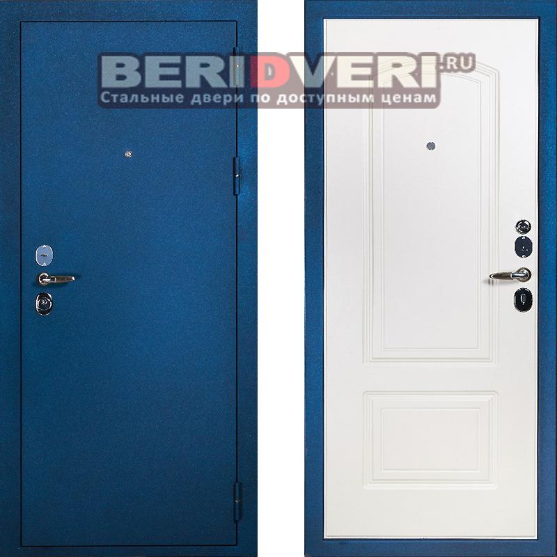 Металлическая дверь Сударь 4 синий