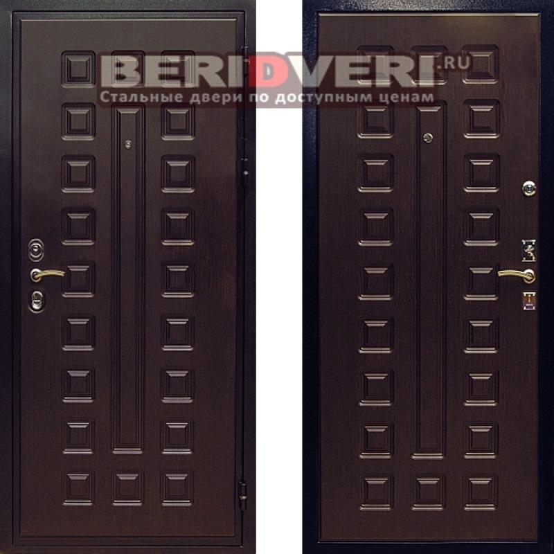 Металлическая дверь Art-Lock 4G CISA Венге