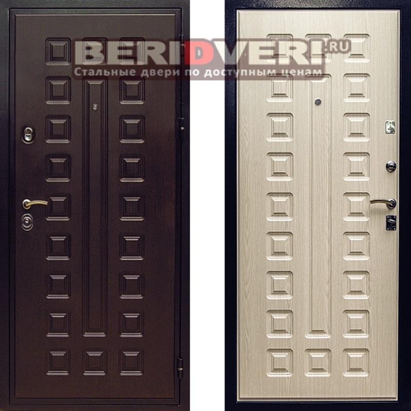 Металлическая дверь Art-Lock 4G Беленый дуб