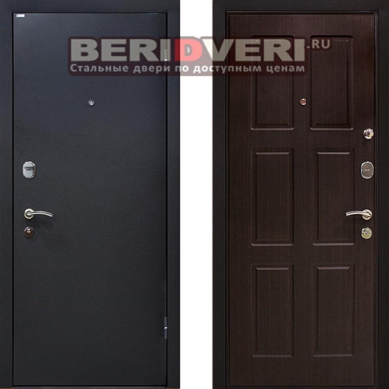 Металлическая дверь МеталЮр М21 Венге