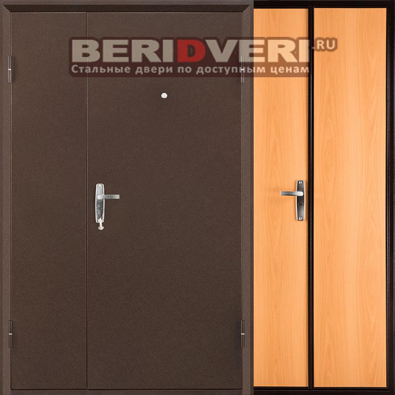 Металлическая дверь Промет С1 Дуэт