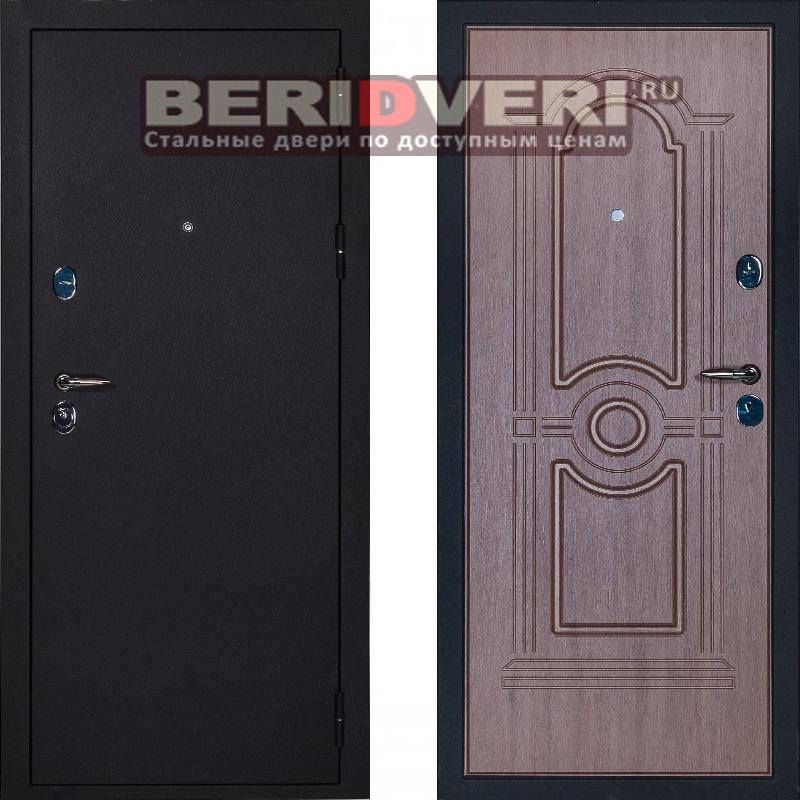 Металлическая дверь Сударь 3 черный CISA