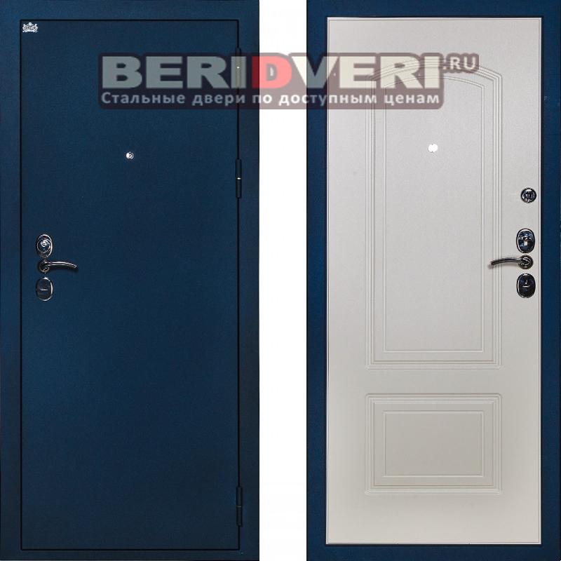 Металлическая дверь Сударь 4 синий CISA