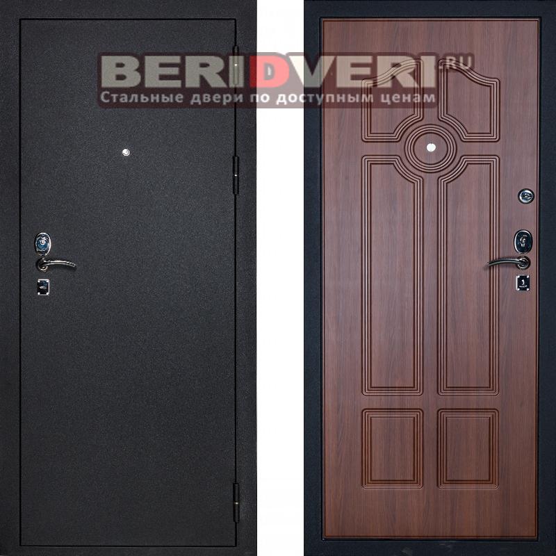 Металлическая дверь Сударь 4 черный CISA