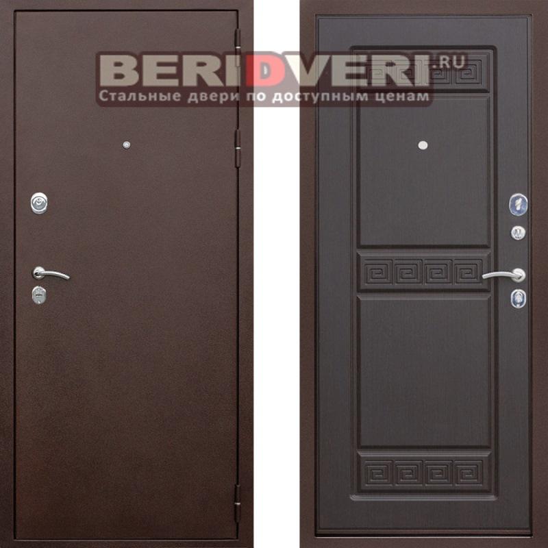 Металлическая дверь Геркон Троя Венге