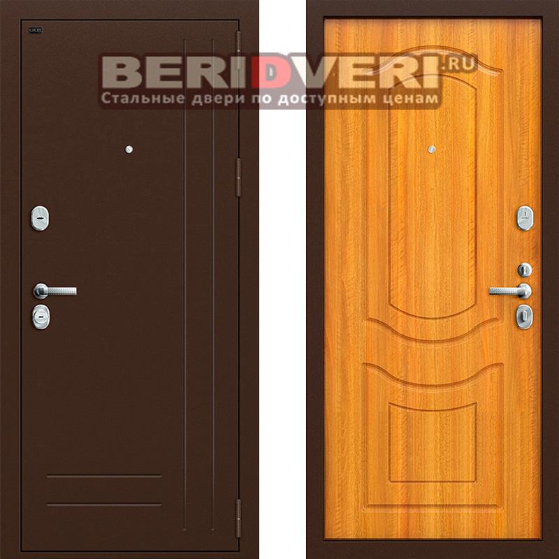 Металлическая дверь Groff P2-200 Светлый орех