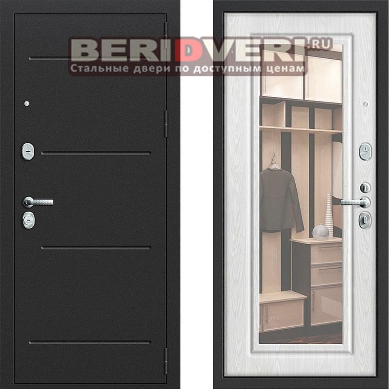 Металлическая дверь Groff P2-206 Беленый дуб