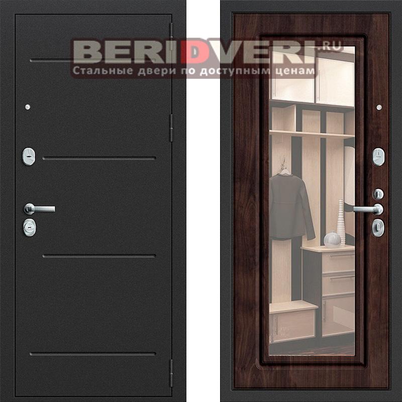 Металлическая дверь Groff P2-216 Темная вишня