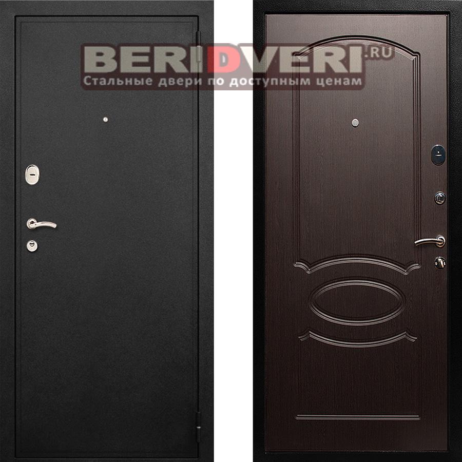 Металлическая дверь Лекс 2 Венге