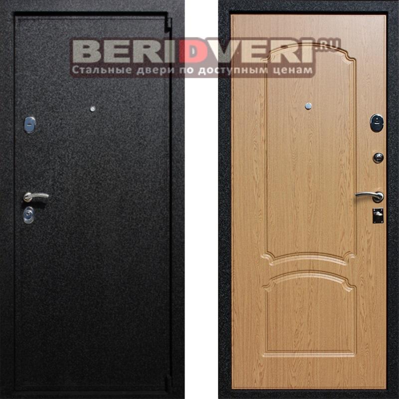 Металлическая дверь Лекс 3 Дуб