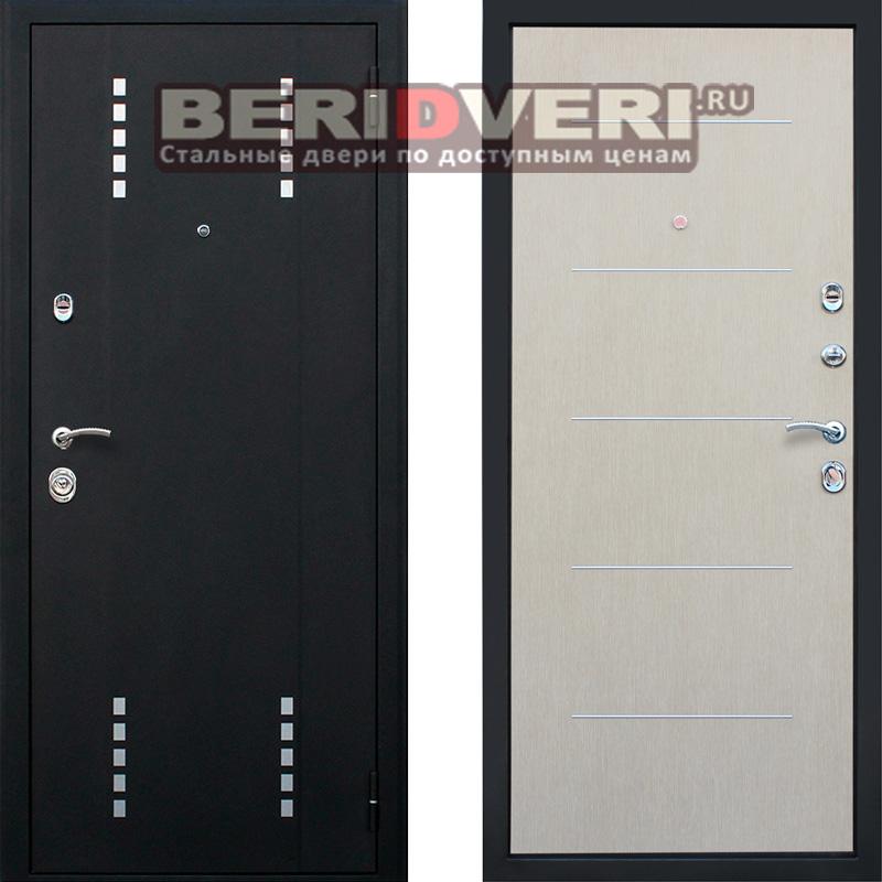Металлическая дверь АСД Агата 1 Беленый дуб