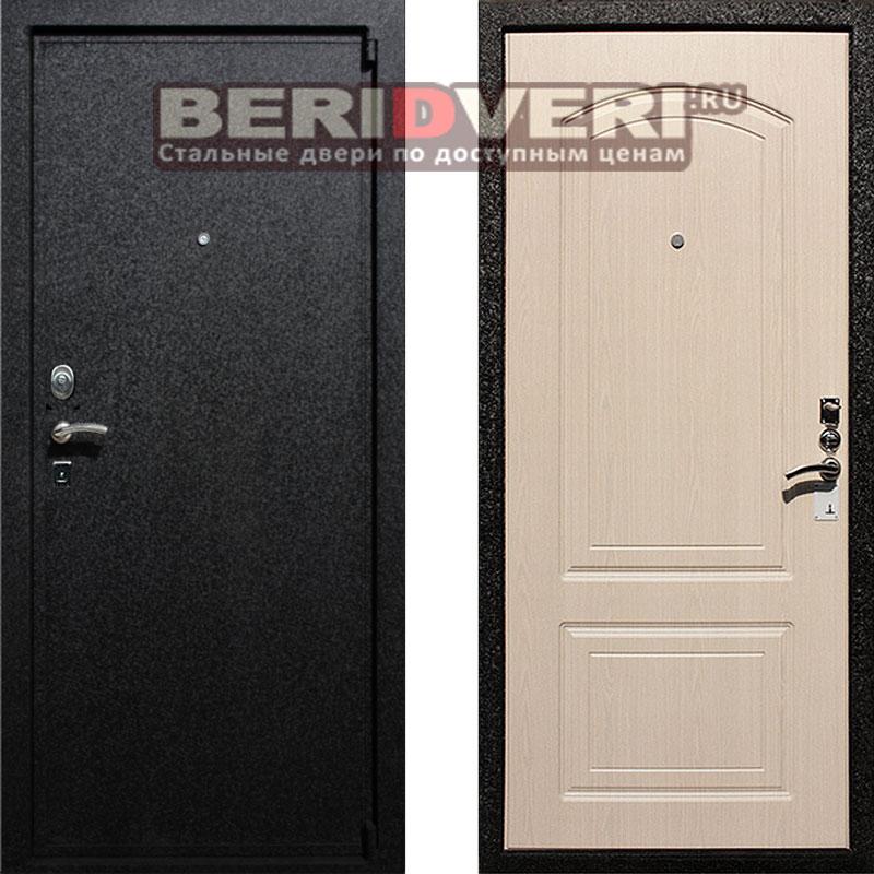 Металлическая дверь REX Премиум 6 Беленый дуб