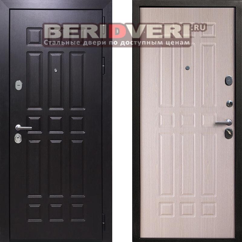 Металлическая дверь REX 8 Беленый дуб