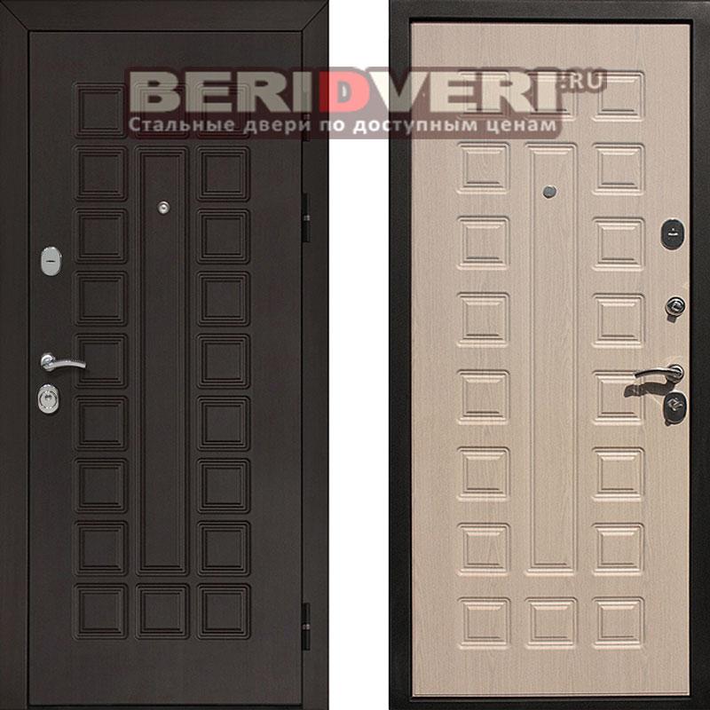 Металлическая дверь REX Сенатор Беленый дуб