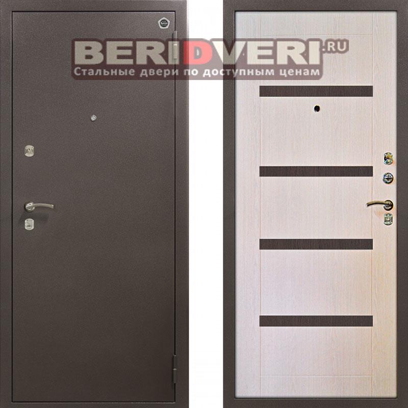 Металлическая дверь Аргус ДА-11 Капучино