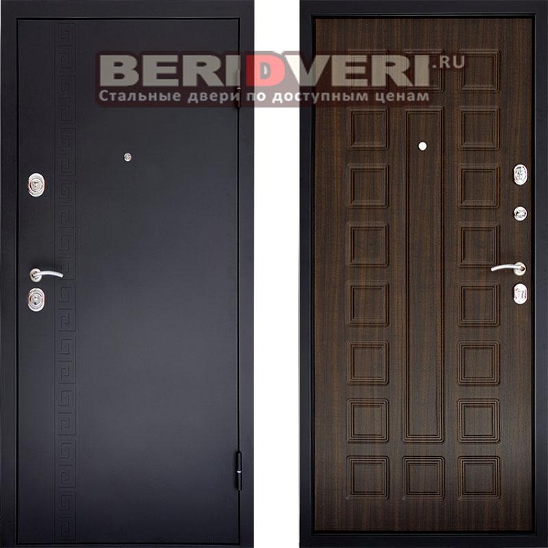 Металлическая дверь Сити 1 Венге