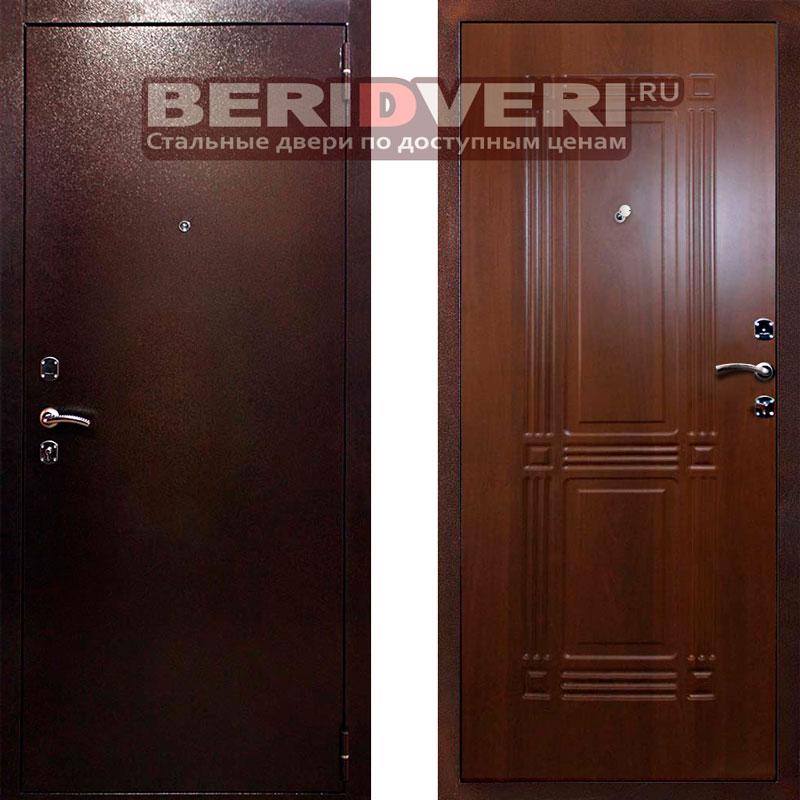 Металлическая дверь Кондор 2 Итальянский орех