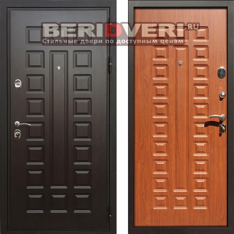 Металлическая дверь REX Премиум 3 (Гладиатор) Орех