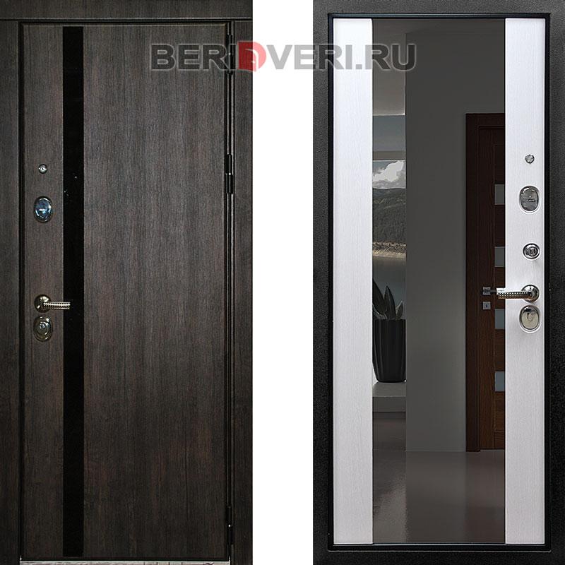 Металлическая дверь Снедо Премьер Зеркало