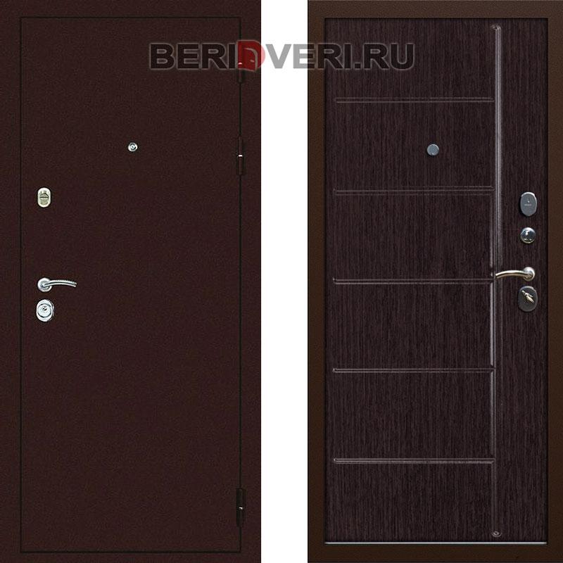 Металлическая дверь Дива С-503 Венге
