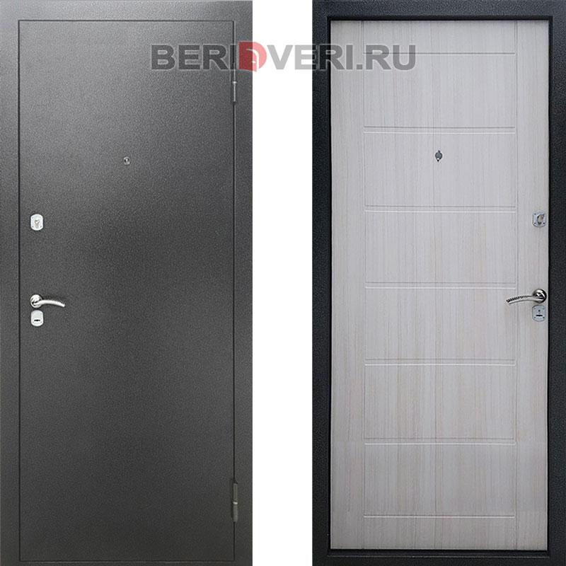 Металлическая дверь REX Сити Сандал белый