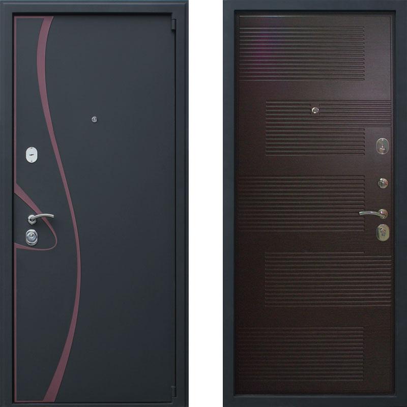 Металлическая дверь АСД Византия Венге