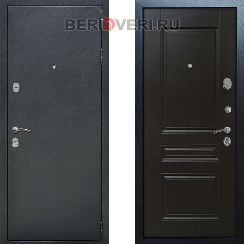 Металлическая дверь REX ФЛ-243 Венге