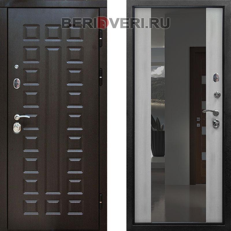 Металлическая дверь Снедо Сенатор 2K Зеркало