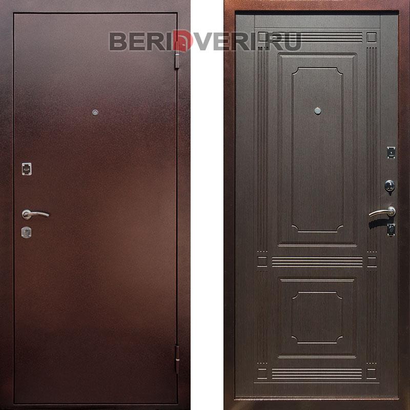 Металлическая дверь REX 1 ФЛ-2 Венге