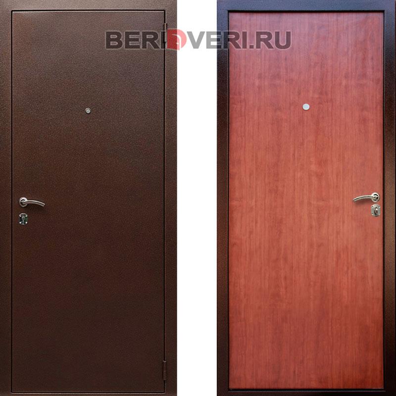 Металлическая дверь REX Супер эконом итальянский орех