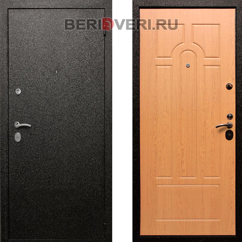 Металлическая дверь REX Верона 6 Дуб светлый