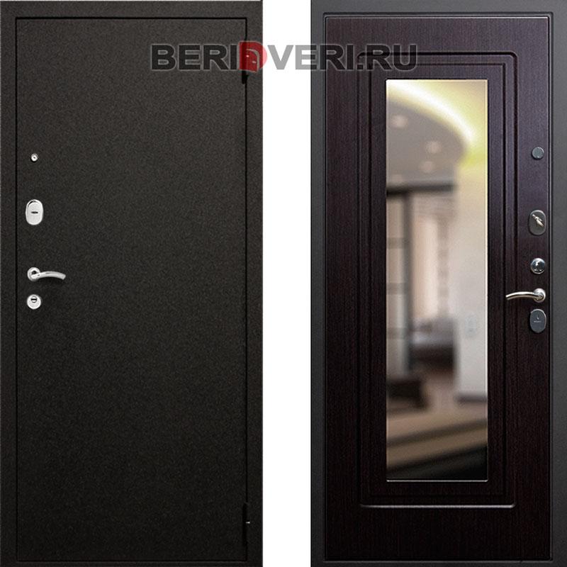 Металлическая дверь REX Верона 6 Зеркало Венге