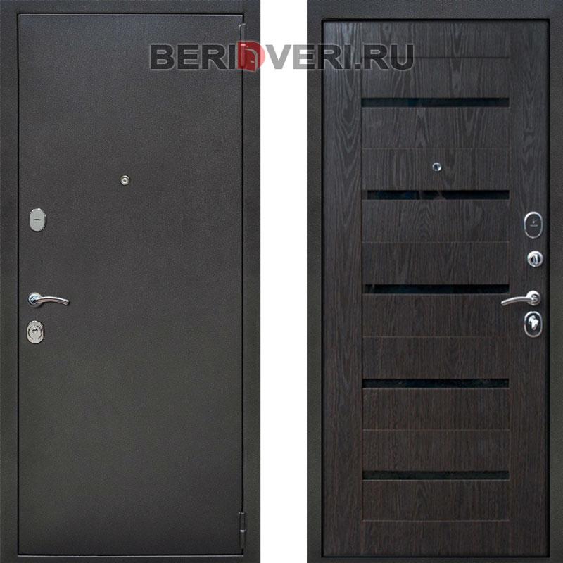 Металлическая дверь Rex Титан Венге Тангент
