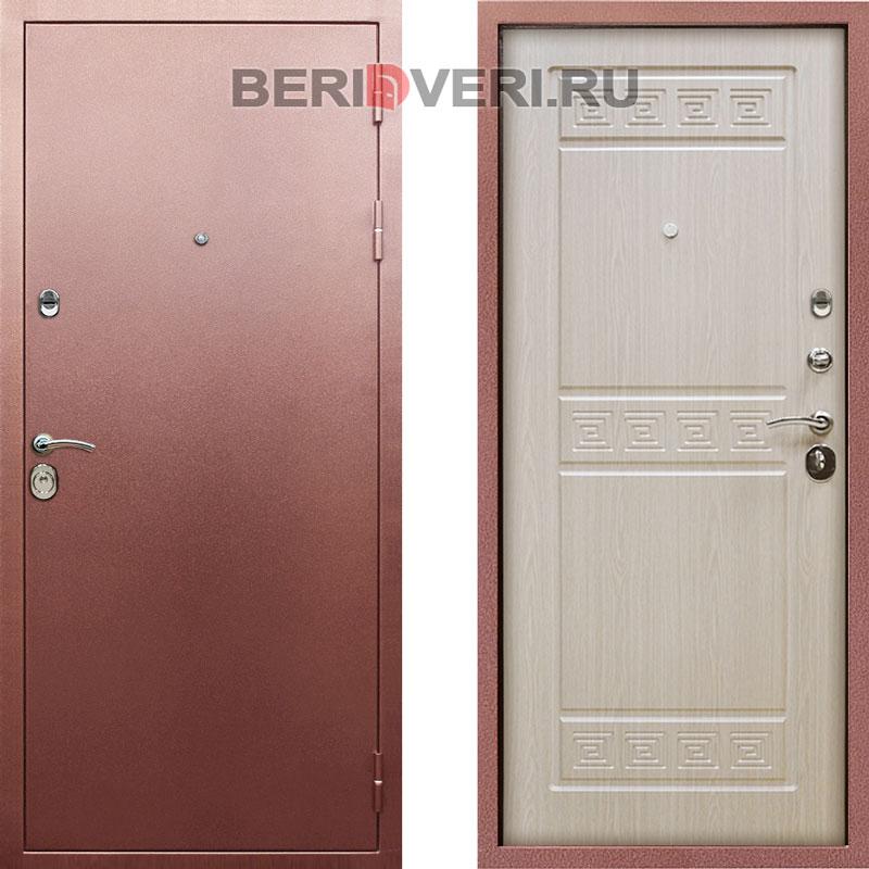 Металлическая дверь Rex Троя Беленый дуб