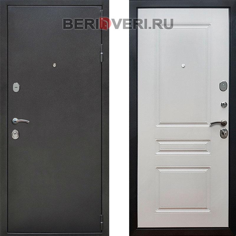 Металлическая дверь REX ФЛ-243 Ясень белый