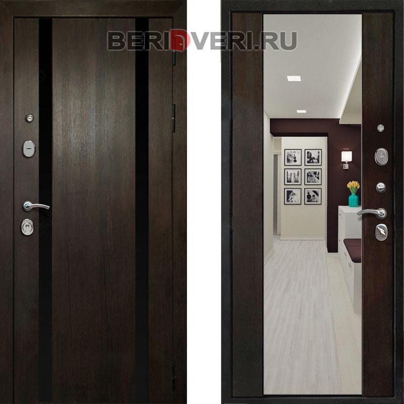 Металлическая дверь REX Премьер Z-3 Венге