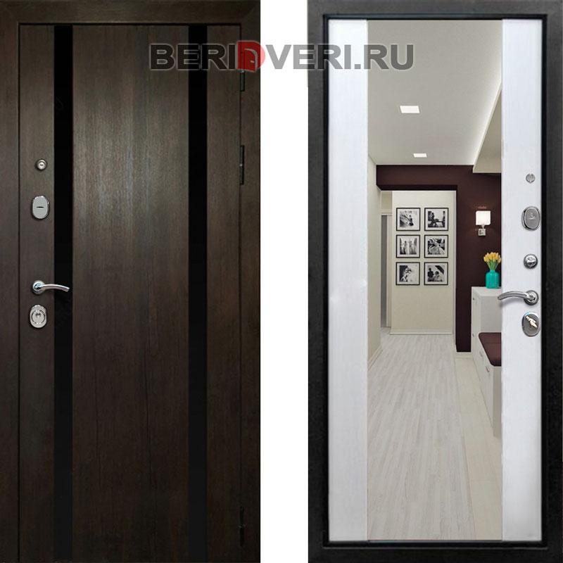 Металлическая дверь REX Премьер Z-3 Белый ясень