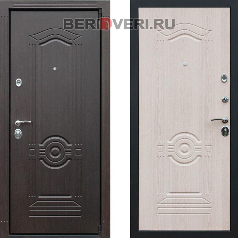 Металлическая дверь REX Grand Беленый дуб