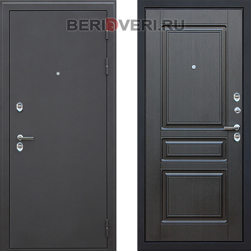 Металлическая дверь АСД Термо 3К Сибирь Венге