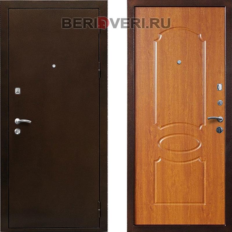 Металлическая дверь Кондор 7 Орех