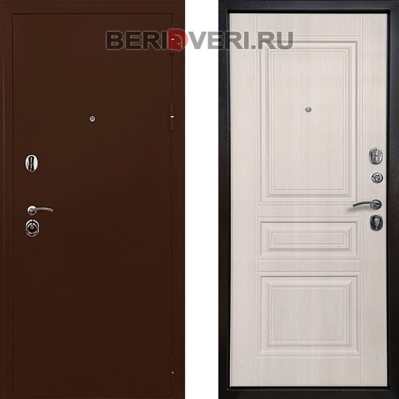 Металлическая дверь Ратибор Троя 3К Лиственница
