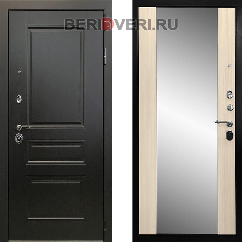 Металлическая дверь Ратибор Монолит 3К Белый сандал
