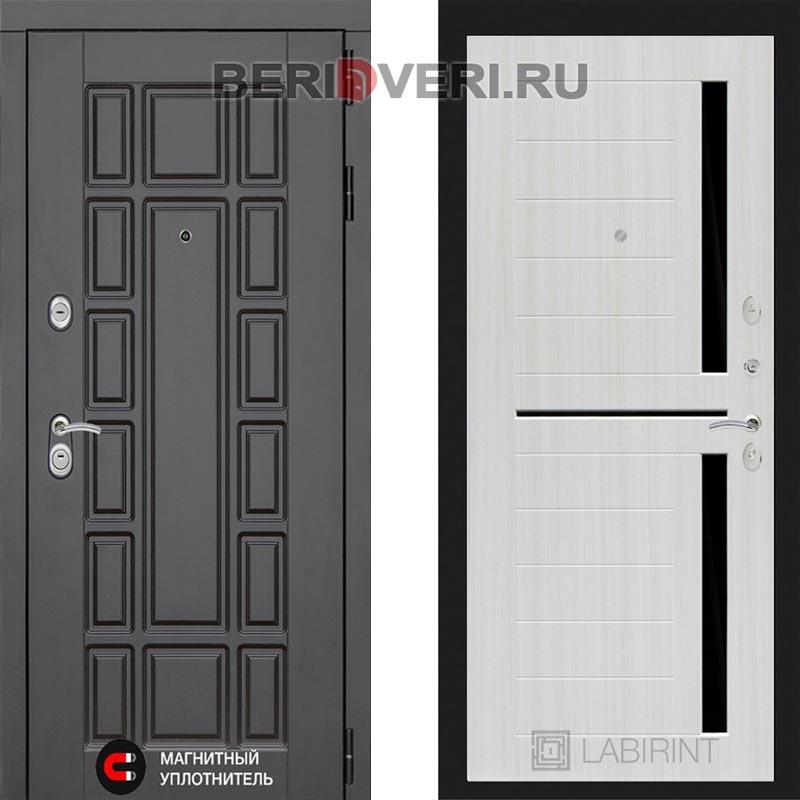 Металлическая дверь Лабиринт Нью-Йорк 02 Сандал белый