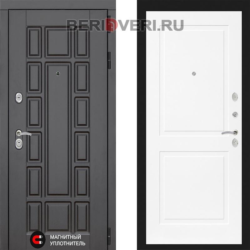Металлическая дверь Лабиринт Нью-Йорк 11 Белый софт