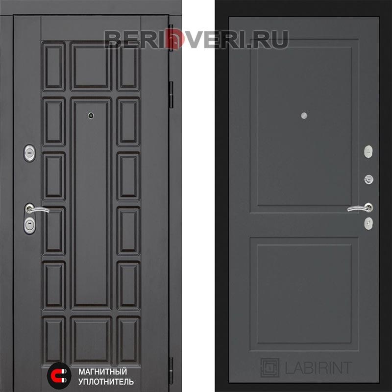 Металлическая дверь Лабиринт Нью-Йорк 11 Графит софт