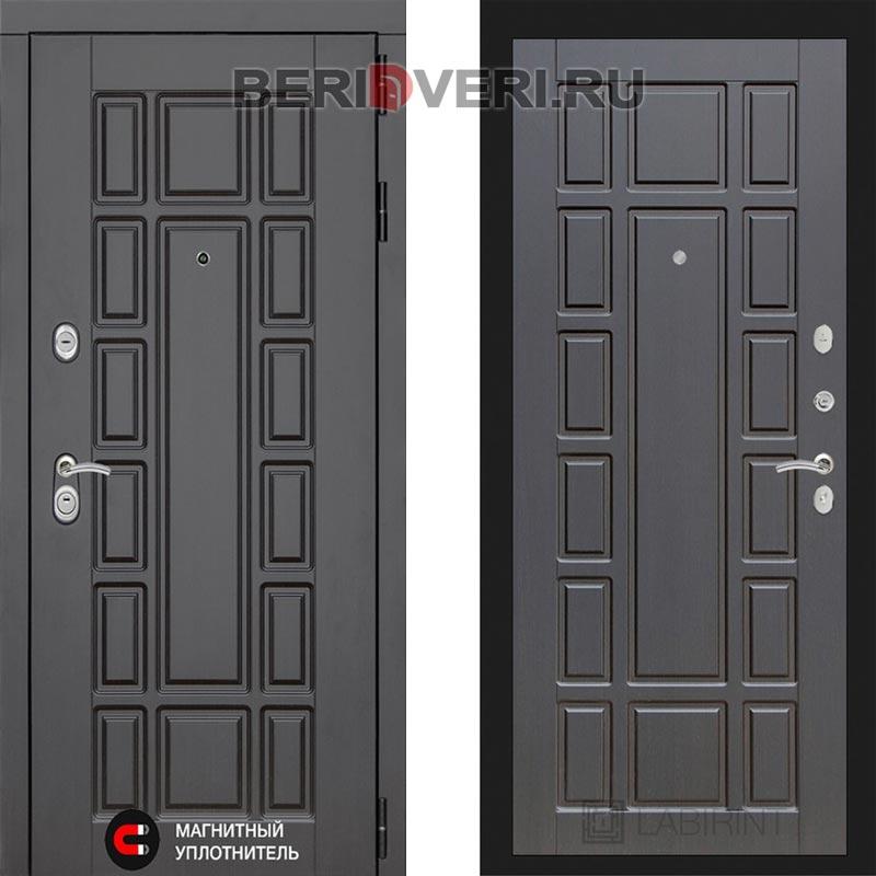 Металлическая дверь Лабиринт Нью-Йорк 12 Венге