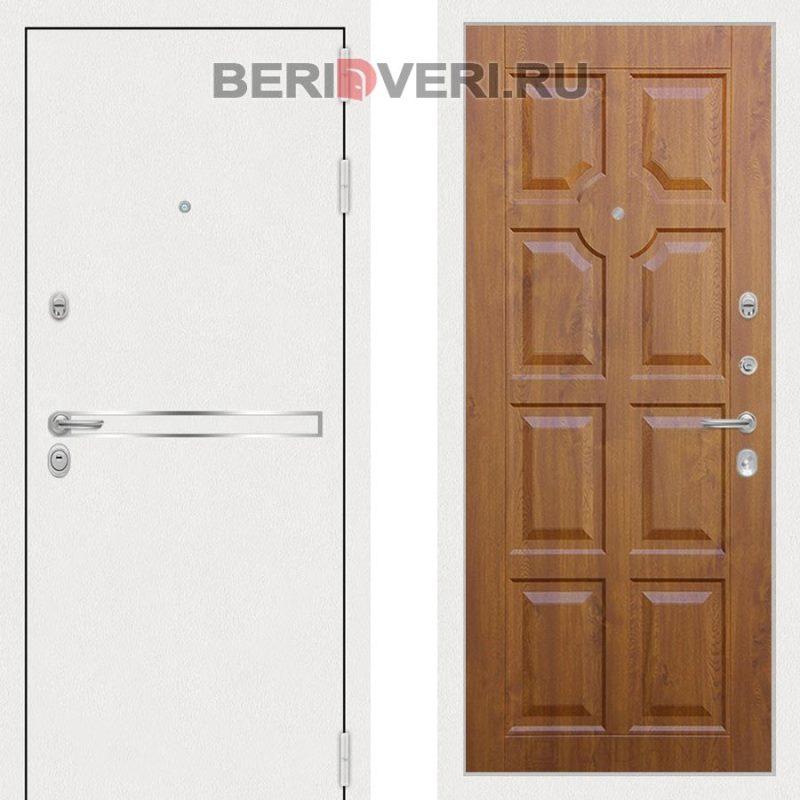Металлическая дверь Лабиринт Лайн White 17 Винорит