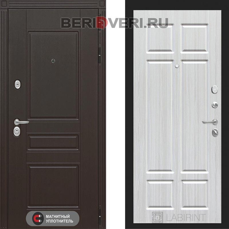 Металлическая дверь Лабиринт Мегаполис 08 Кристал вуд